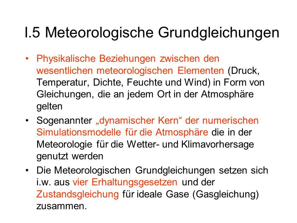 I.5 Meteorologische Grundgleichungen