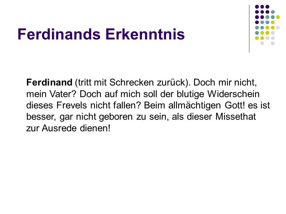 Ferdinands Erkenntnis