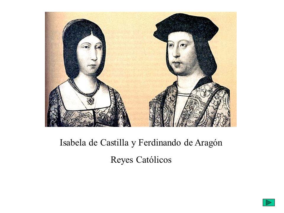 Isabela de Castilla y Ferdinando de Aragón
