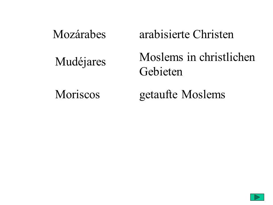 Moslems in christlichen Gebieten