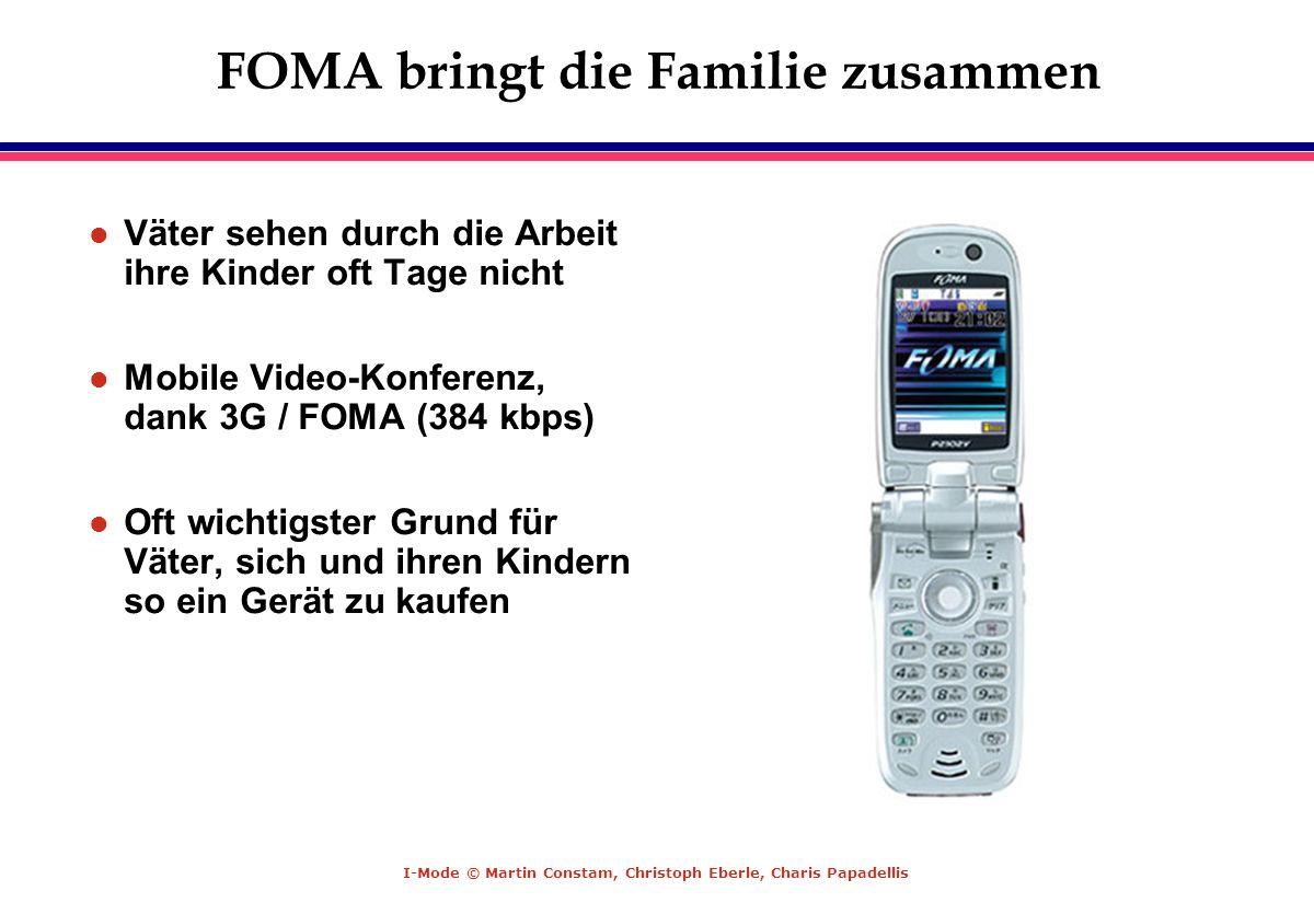 FOMA bringt die Familie zusammen