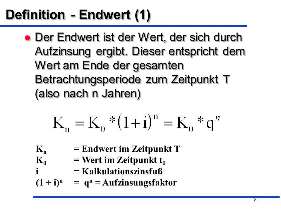 Definition - Endwert (1)