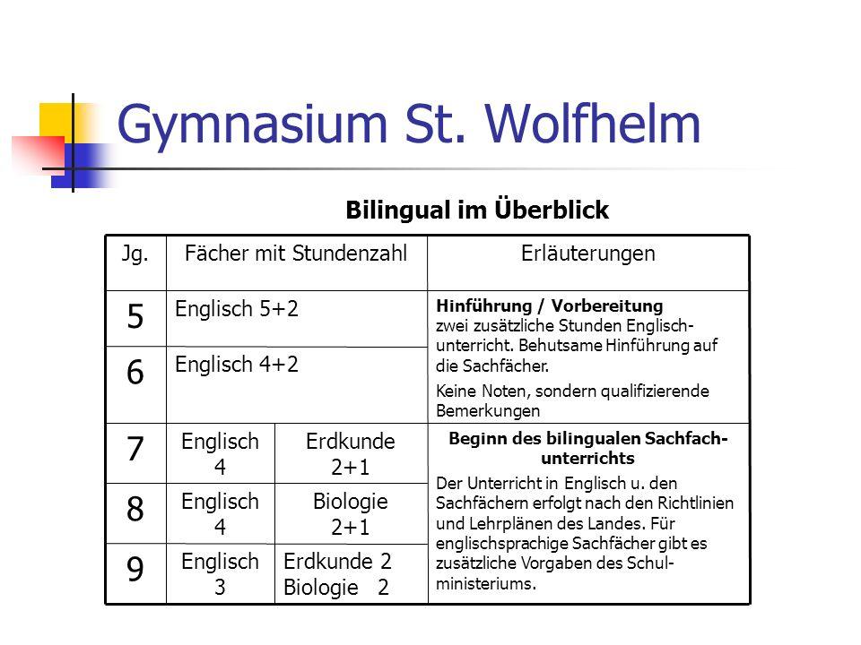 Bilingual im Überblick