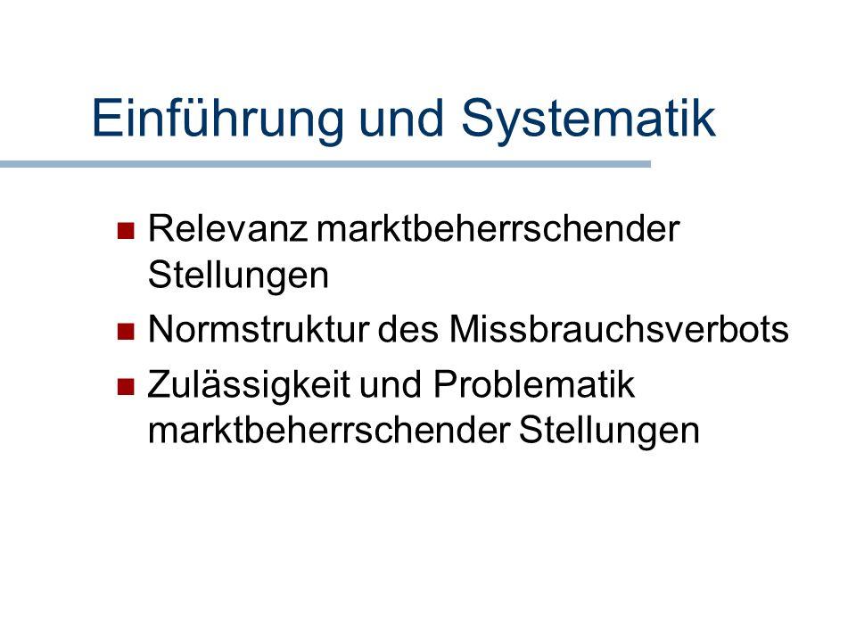 Einführung und Systematik
