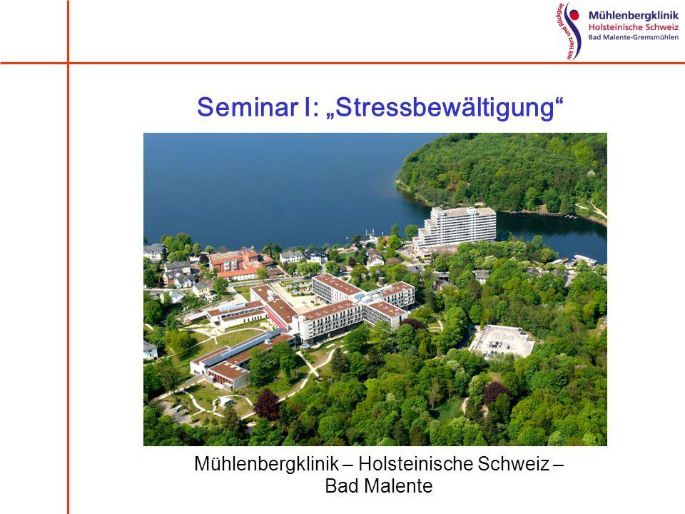 "Seminar I: ""Stressbewältigung"