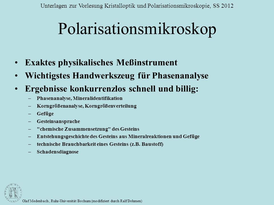 Polarisationsmikroskop