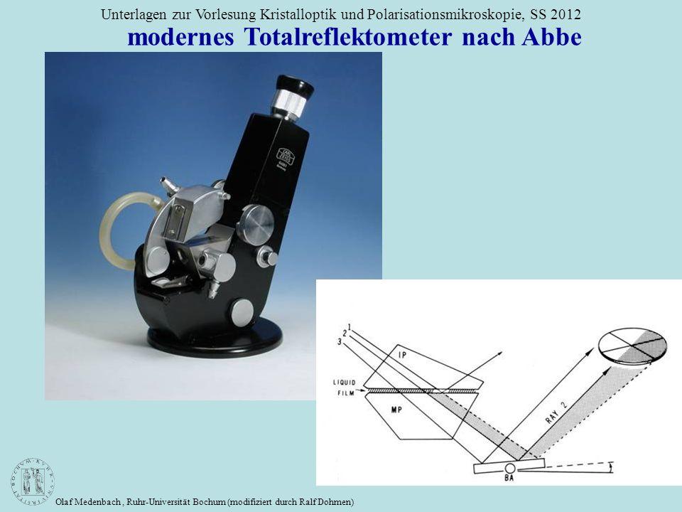 modernes Totalreflektometer nach Abbe