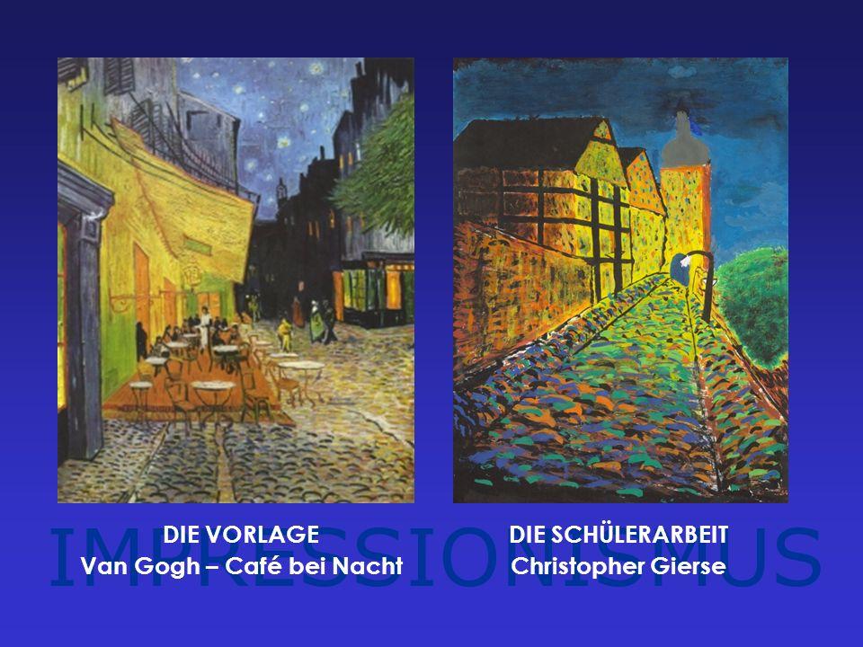 Van Gogh – Café bei Nacht