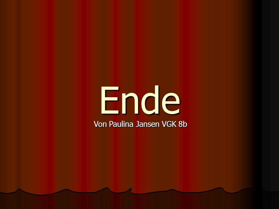 Von Paulina Jansen VGK 8b