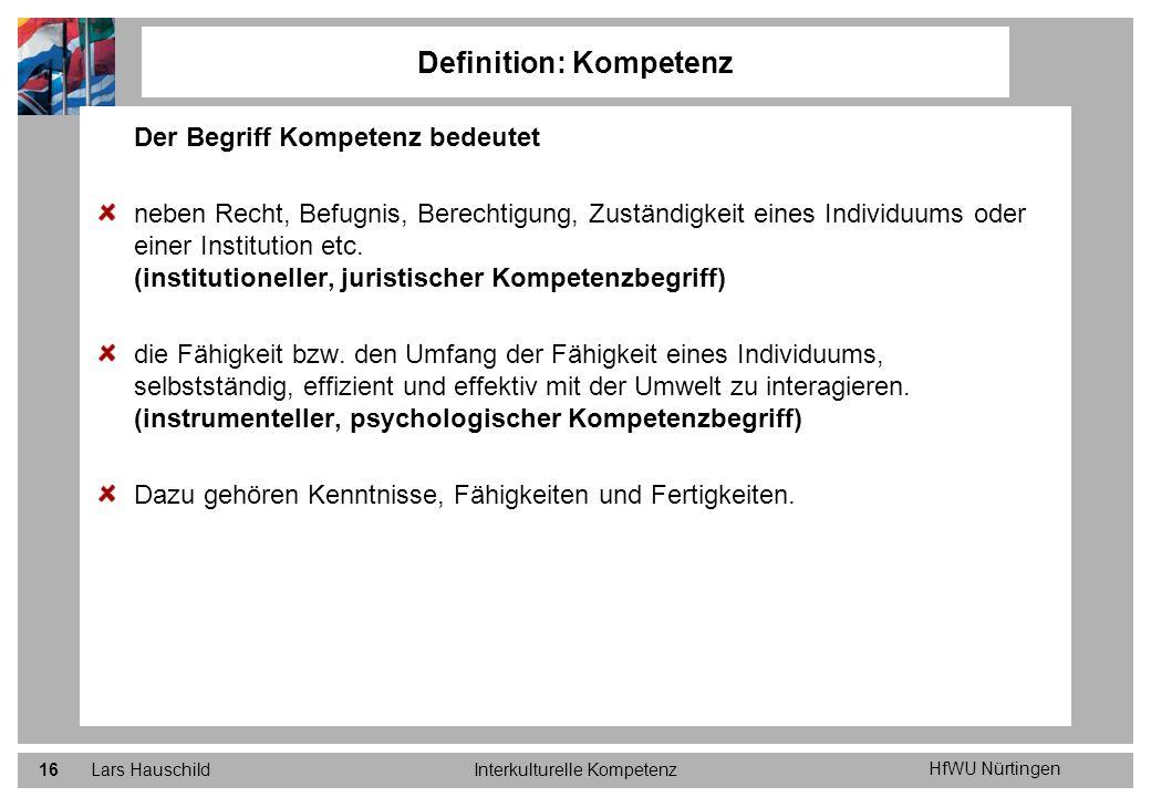 Definition: Kompetenz