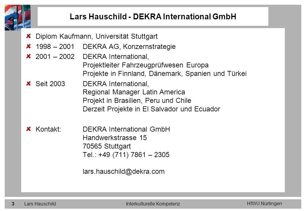 Lars Hauschild - DEKRA International GmbH
