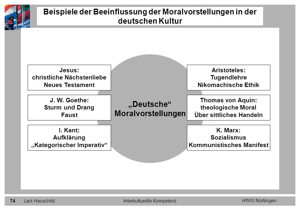 """""""Deutsche Moralvorstellungen"""