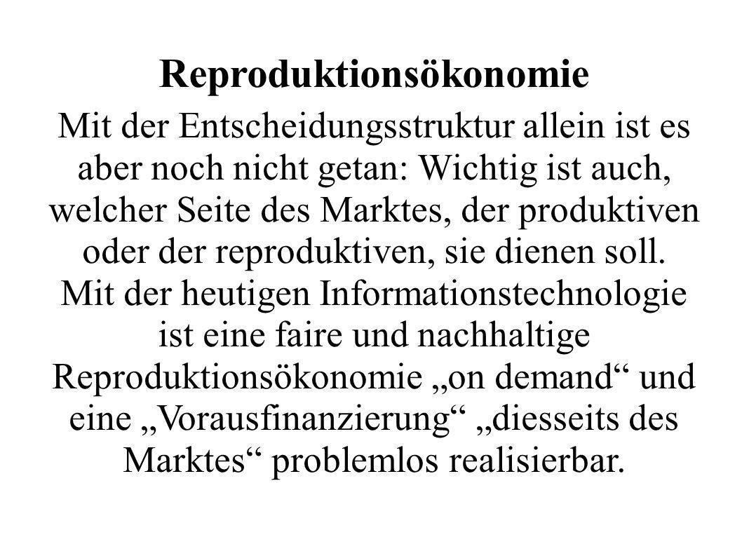 Reproduktionsökonomie