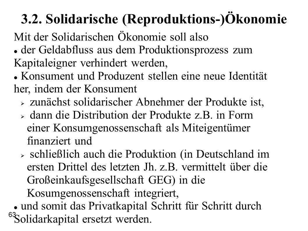 3.2. Solidarische (Reproduktions-)Ökonomie