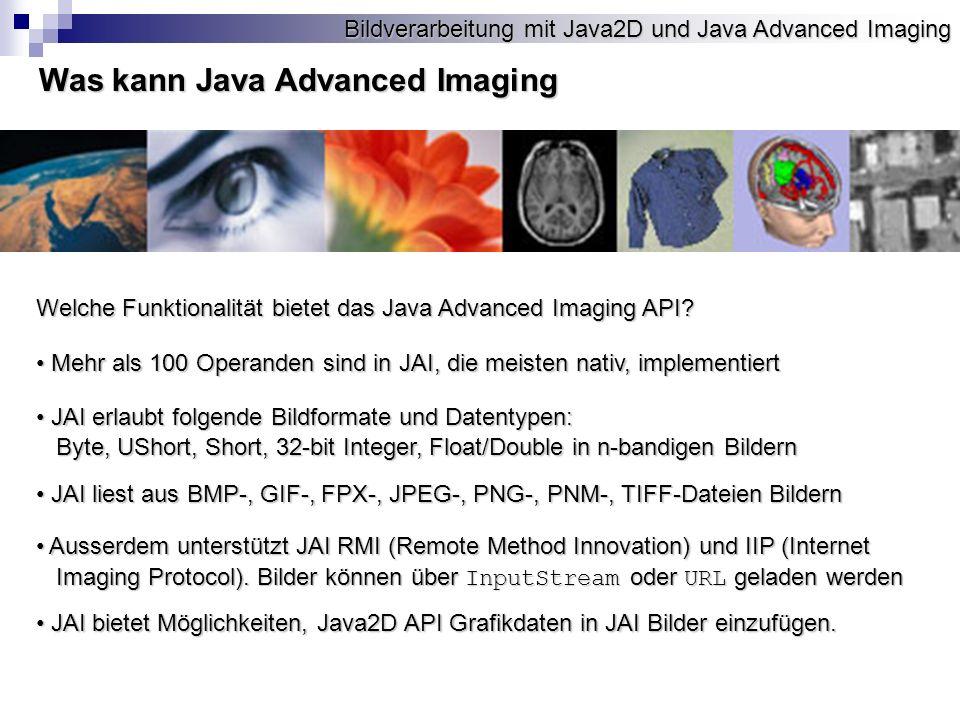 Was kann Java Advanced Imaging