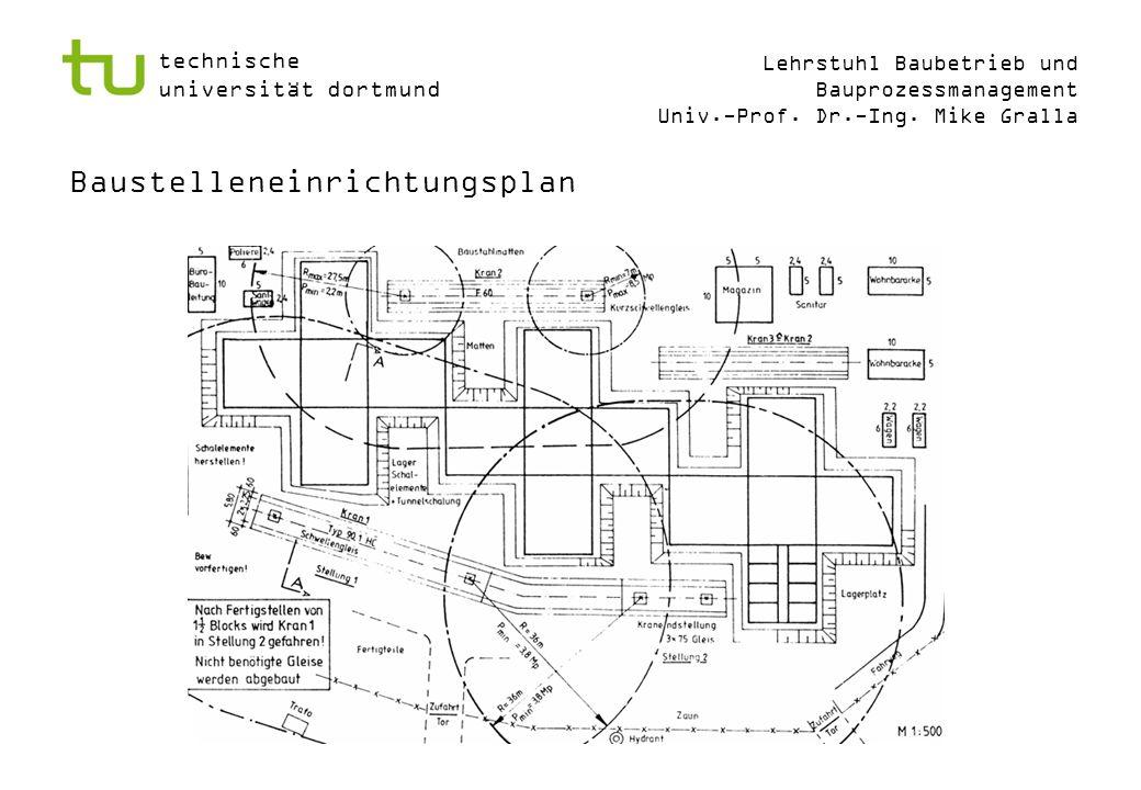 Baustelleneinrichtungsplan