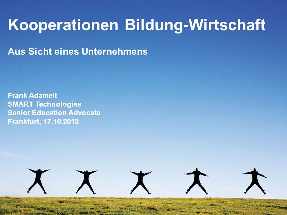 Kooperationen Bildung-Wirtschaft