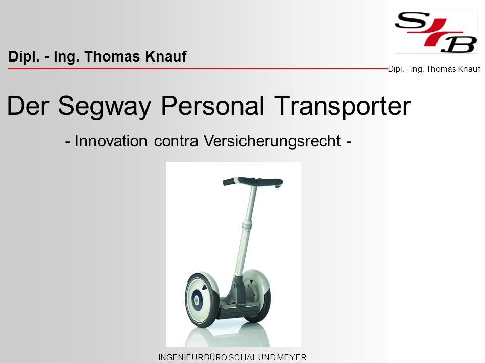 Der Segway Personal Transporter