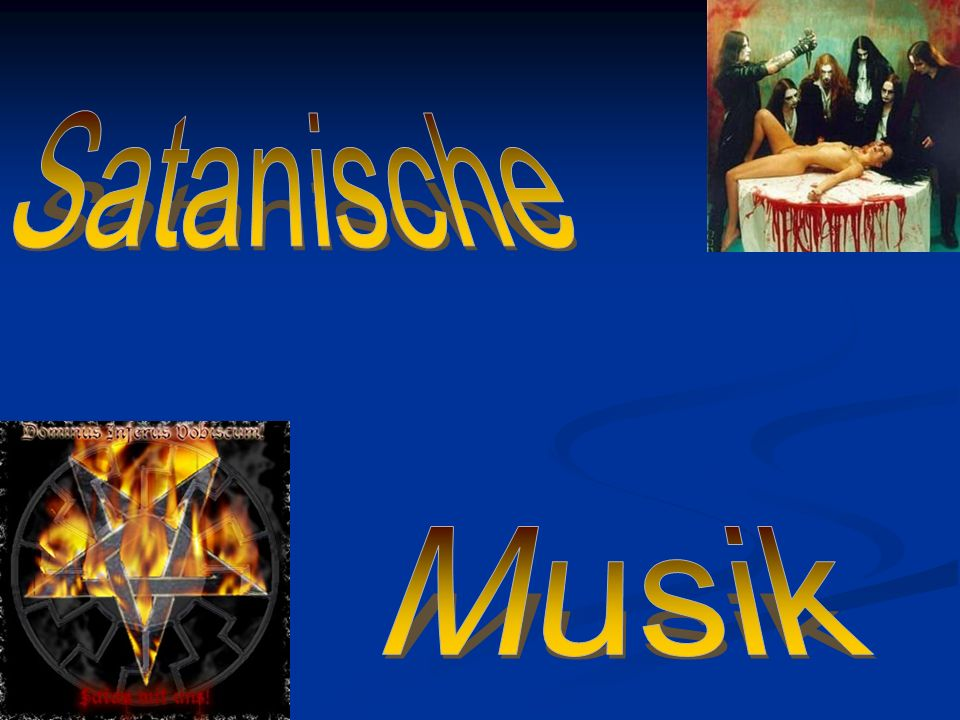 Satanische Musik