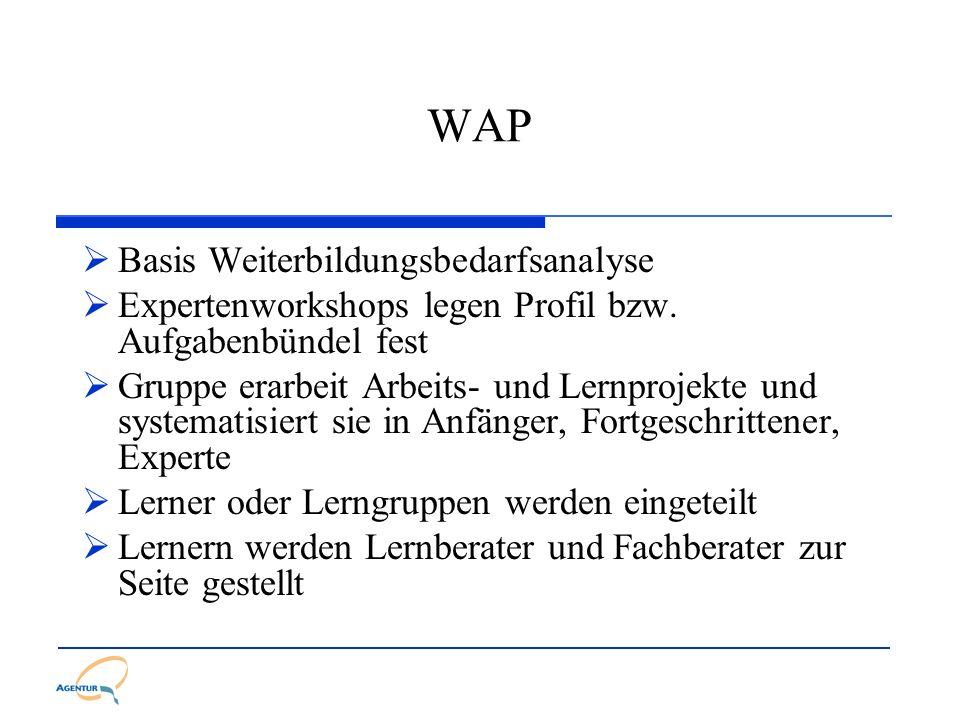 WAP Basis Weiterbildungsbedarfsanalyse
