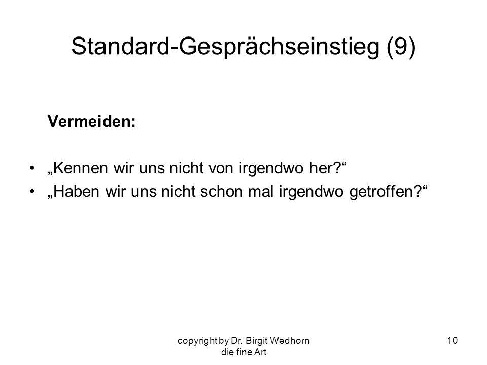 Standard-Gesprächseinstieg (9)
