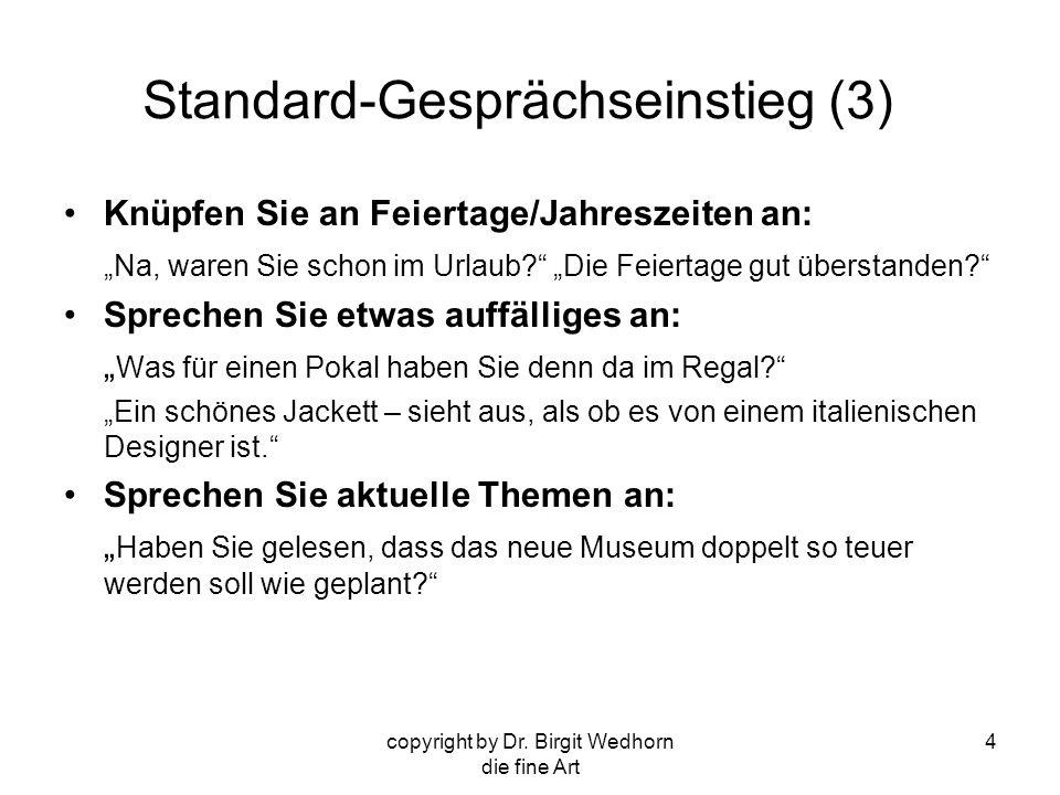 Standard-Gesprächseinstieg (3)