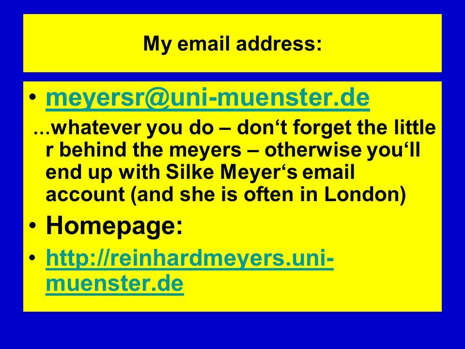 meyersr@uni-muenster.de Homepage: