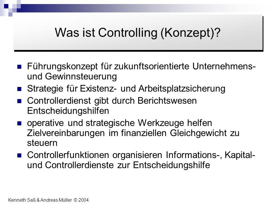 Was ist Controlling (Konzept)