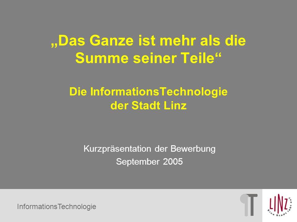 Kurzpräsentation der Bewerbung September 2005