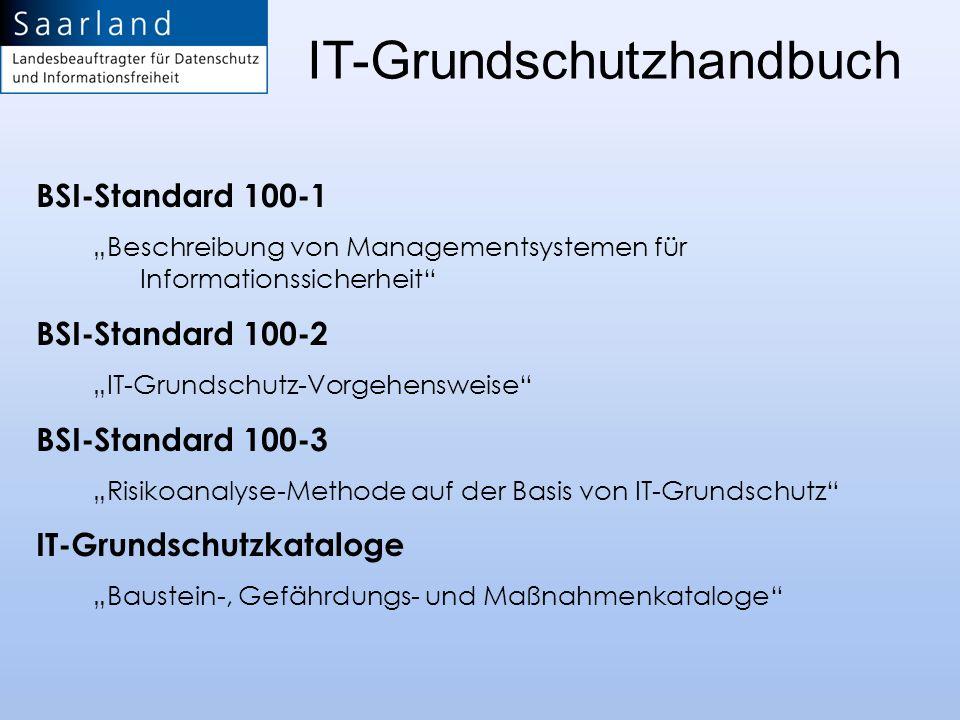 IT-Grundschutzhandbuch