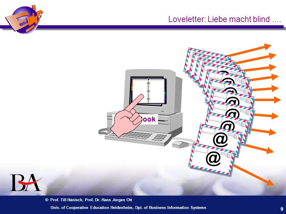 Loveletter: Liebe macht blind ....
