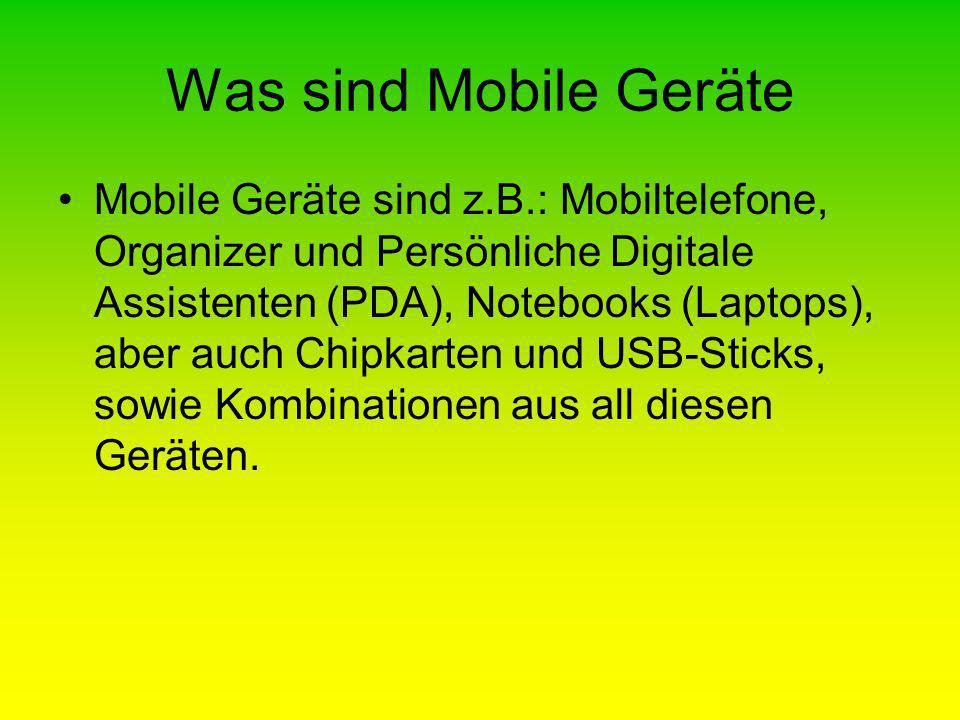 Was sind Mobile Geräte