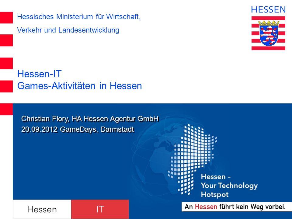 Hessen-IT Games-Aktivitäten in Hessen