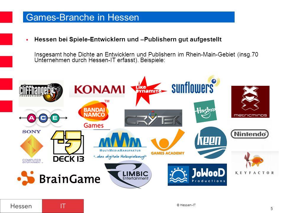 Games-Branche in Hessen
