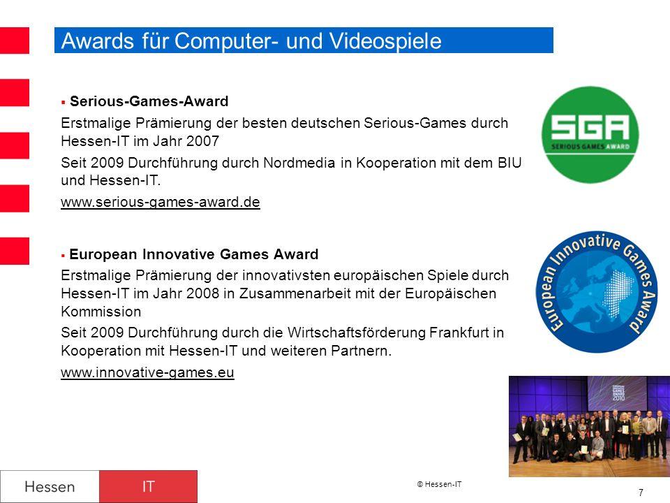 Awards für Computer- und Videospiele