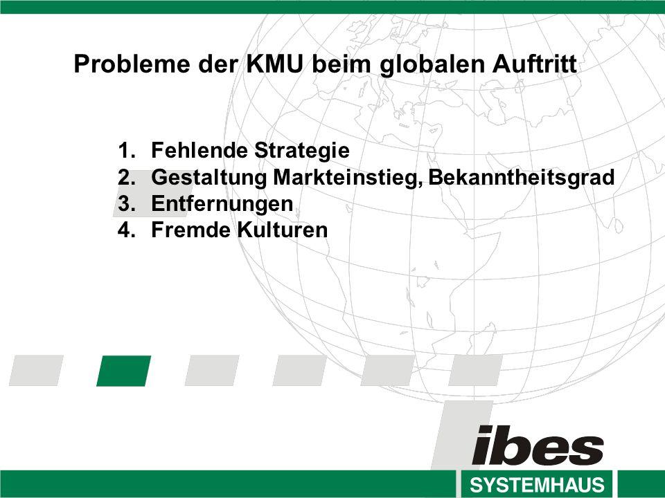 Probleme der KMU beim globalen Auftritt