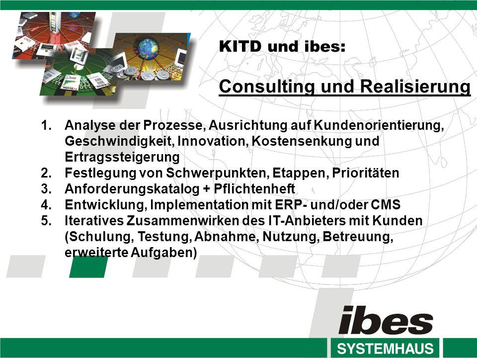 Consulting und Realisierung