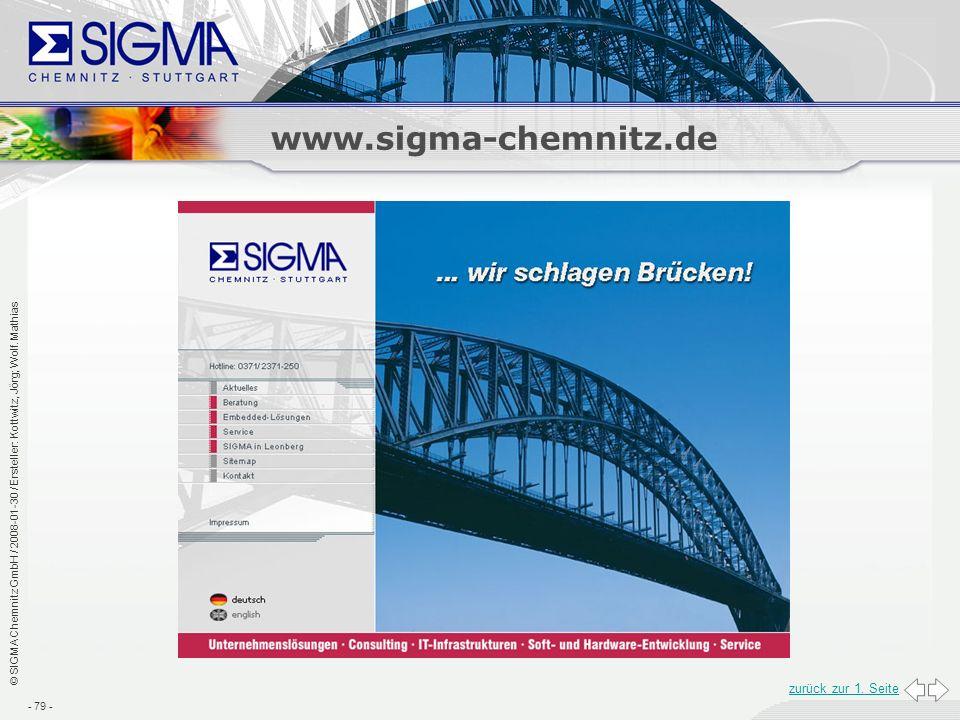 www.sigma-chemnitz.de zurück zur 1. Seite