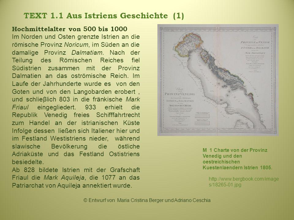 TEXT 1.1 Aus Istriens Geschichte (1)