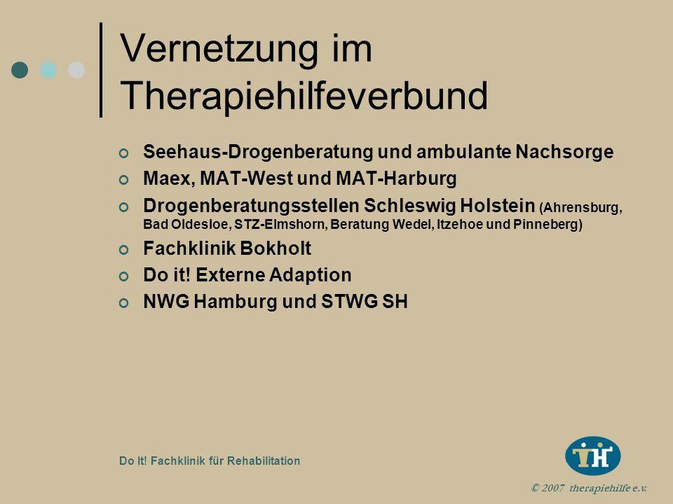 Vernetzung im Therapiehilfeverbund