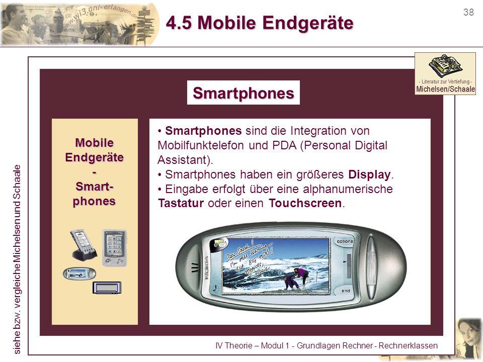 4.5 Mobile Endgeräte Smartphones