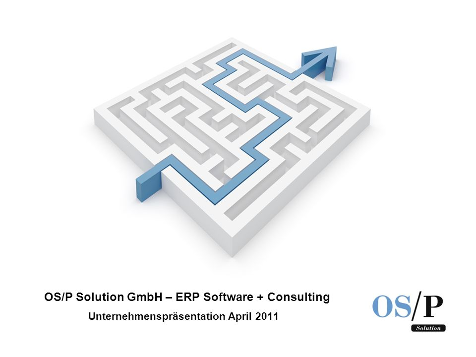 Unternehmenspräsentation April 2011