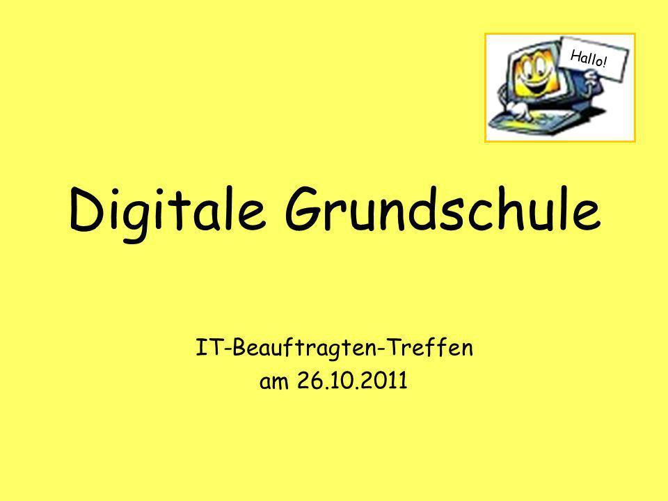 IT-Beauftragten-Treffen am 26.10.2011