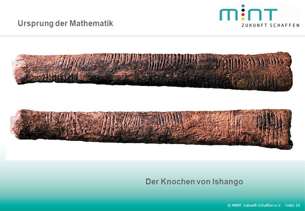 Ursprung der Mathematik