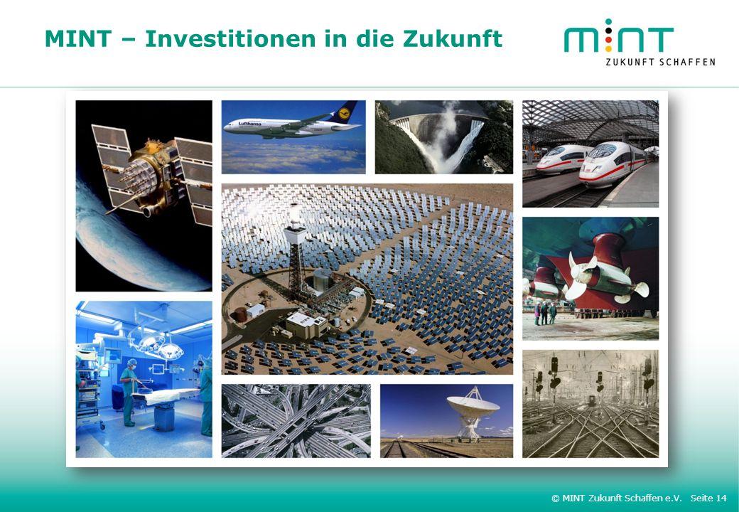 MINT – Investitionen in die Zukunft