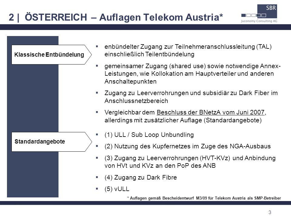 2 | ÖSTERREICH – Auflagen Telekom Austria*