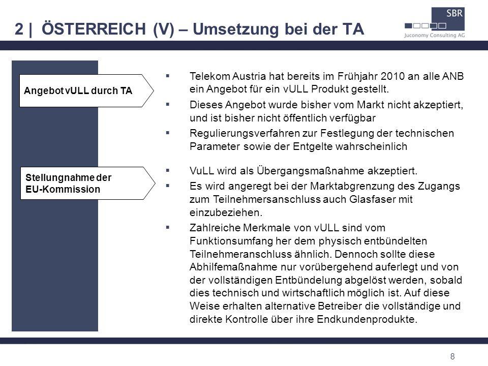 2 | ÖSTERREICH (V) – Umsetzung bei der TA
