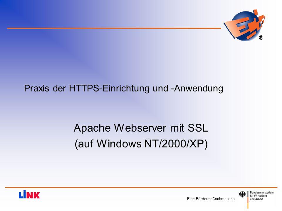 Praxis der HTTPS-Einrichtung und -Anwendung
