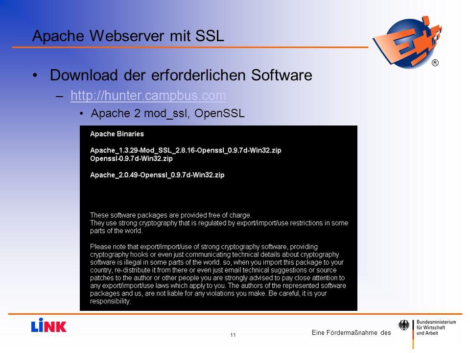 Apache Webserver mit SSL