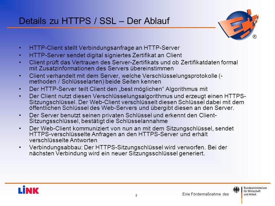 Details zu HTTPS / SSL – Der Ablauf